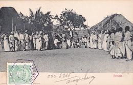 CPA - ANGOLA - Batuque- 1907 - Angola