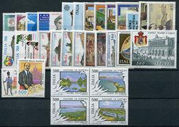 Italia Repubblica 1987 - 1981-90: Mint/hinged