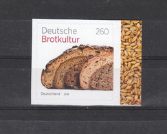 Deutschland BRD ** 3390 Deutsche Brotkultur Skl   Neuausgabe 3.5.2018 - BRD