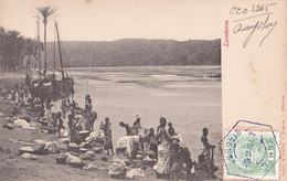 CPA - ANGOLA - Lavadeiras- 1907 - Angola