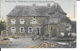 Rendeux-Bas - Vieille Ferme, Datant Du Temps Des Normands - Colorisé - Epse: Demelenne-Collet - Circulé - Voir 2 Scans. - Rendeux