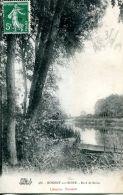 N°61624 -cpa Nogent Sur Seine -bord De Seine- - Nogent-sur-Seine