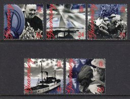 GUERNSEY - 1995 LIBERATION ANNIVERSARY SET (5V) SG 672-676 FINE MNH ** - Guernsey