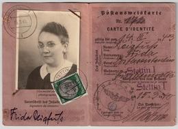 "DR, 1940, 50 Pfg. "" Stetin "" Postausweis ,  #a349 - Deutschland"