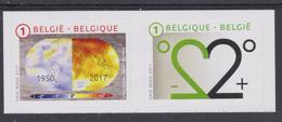 BE 2017 - 4692/83  XX En Carnet -  Climat Perturbé - Belgique