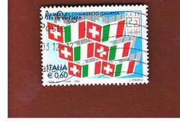 ITALIA REPUBBLICA  -   2009   CAMERA COMMERCIO PER LA SVIZZERA   -   USATO  ° - 6. 1946-.. Repubblica