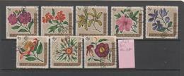 BURUNDI - 1967, 4^ Anniversario Dell'Indipendenza Flowers Serie Cpl. 8v  Da BF Usati - Burundi