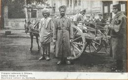 """CPA Guerre Européenne De 1914 Edition Patriotique """"Troupes Indiennes à Orléans"""". Impr. Lapina Paris N° 1921 - Oorlog 1914-18"""