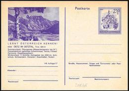 Austria/Autriche:  Intero, Stationery, Entier, Montagne, Mountains, Montagnes - Altri