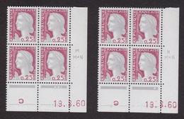Coins Datés N° 1263 Marianne De DECARIS - Paire De Galvano - TB** - Angoli Datati