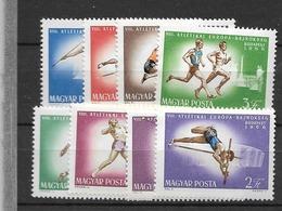 1966 MNH Hungary, Michel 2262-69 - Hungary