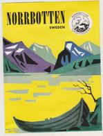 Vieux Papier : étiquette  Hotel :  Norrbotten , Sweden ,  Suède - Etiquettes D'hotels