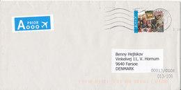 Belgium Cover Sent To Denmark Antwerpen 24-9-2012 - Belgium