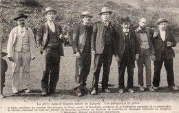 54-LONGWY-GREVES-GR2VISTES-LES DÉLEGUÉS DE LA GRÈVE- - Longwy