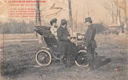 Le Voyage De Burtey Richard - Voiture Ancienne Automobile - Cartes Postales