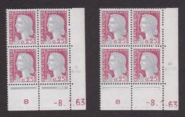 Coins Datés N° 1263 Marianne De DECARIS - Paire De Galvano - TB** - Ecken (Datum)