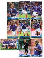 LOT 9 Télécartes Prépayées -  Phonecard - Kertel - Football - FRANCE 1998 - France