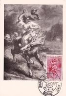Carte Postale Algérie Alger 1957 Oeuvres Sociales De L'Armée - Algérie (1924-1962)