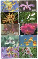 LOT 15 Télécartes - Phonecard - Fleurs - Flower - Orchidée - Orchid - Flowers