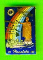 PIN'S - ÉPINGLETTES - ASSOCIATIONS DES CLUB LIONS - 66th INTERNATIONAL COVENTION, HONOLULU, HAWAI, 1983 - - Associations