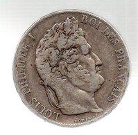 5 FRANCS LOUIS PHILIPPE I ROI DES FRANCAIS.1847 A.TB - France
