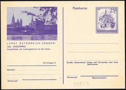Austria/Autriche:  Intero, Stationery, Entier, Fiume Danubio, Danube River, Danube - Aardrijkskunde
