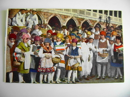 """1930 VENEZIA """"FESTA DEL PANE"""" - OPERA ITALIANA PRO ORIENTE  NON VIAGGIATA   COME DA FOTO FORMATO PICCOLO OPACA - Trieste"""