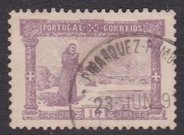 Portugal SG 329 1895 700th Anniversary Birth St Anthony, 10 Reis Mauve, Used - 1892-1898 : D.Carlos I