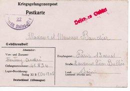 Lettre D'un Francais Qui Travaille En Allemagne En 1941 - Historische Dokumente
