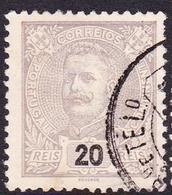Portugal SG 347 1895 King Carlos Numerals, 20r Lilac, Used - 1892-1898 : D.Carlos I