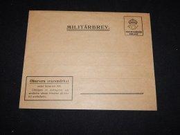 Sweden Unused Militärbrev__(L-11032) - Military