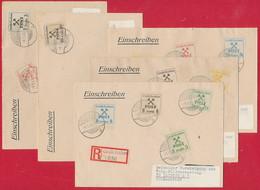 Lokalpost 'Großräschen' 5 Briefe - Germany