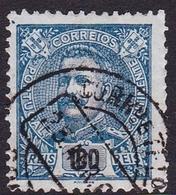 Portugal SG 356 1895 King Carlos Numerals, 100r Blue, Used - 1892-1898 : D.Carlos I