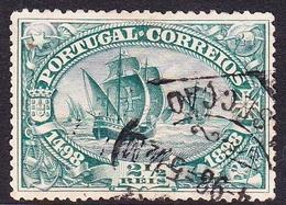 Portugal SG 378 1898 Vasco De Gama, 2 And Half R Green, Used - 1892-1898 : D.Carlos I