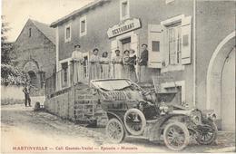 Martinvelle - Café Gantois-Varlet - Epicerie - Mercerie - Autres Communes