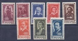 180027987  RUMANIA  YVERT  Nº  952/9  **/MNH - Unused Stamps