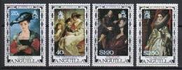 Anguilla 1977 Set Of Stamps To Celebrate 400th Birth Anniversary Of Rubens. - Anguilla (1968-...)
