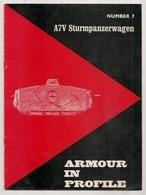 ARMOUR IN PROFILE NUMBER 7  A7V STURMPANZERWAGEN    MILITARIA - Tijdschriften & Kranten