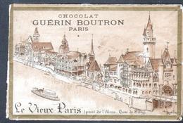 GUERIN-BOUTRON, Serie De 18 Cartes: Le Vieux Paris Illustrées Par Robida, Dans Leur Pochette D'origine, - Guérin-Boutron