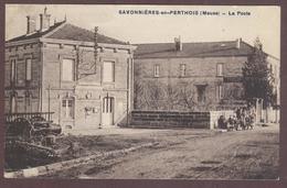 Savonnières-en-Perthois La Poste Téléphones Télégraphes Meuse 55170 ** Savonnières En Perthois Canton D' Ancerville - Autres Communes