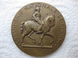 Medaille Gendarmerie Nationale De France Pour La Patrie L'Honneur Et Le Droit 1214, Par C. N. Rispal - Militaria