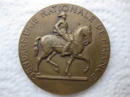 Medaille Gendarmerie Nationale De France Pour La Patrie L'Honneur Et Le Droit 1214, Par C. N. Rispal - Militari