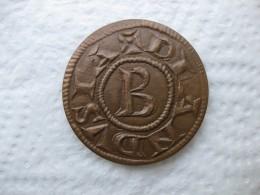 Medaille Du Denier Seigneurie D'Anduze Et De Sauve, Bernard II, Hérault. - France