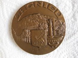 Medaille Ville De Lagnieu, Ain, 1982, Par L. Roy - France