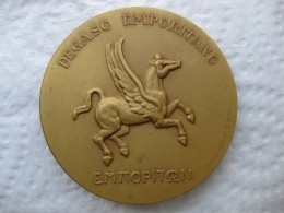 Médaille Empúries - Pegase   .XXV Siglos De Historia , Pegaso Emporitano , Emporiton , Calico  1972 - Spanje