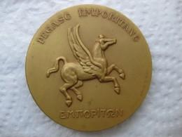 Médaille Empúries - Pegase   .XXV Siglos De Historia , Pegaso Emporitano , Emporiton , Calico  1972 - España
