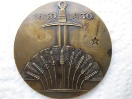 Médaille Centenaire De La Révolution Belge 1830 – 1930 , Par RAU - Belgique