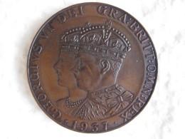 Medal King George VI And Queen Elizabeth Commemoration 1937 - United Kingdom