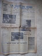 """""""la Croix Du Nord"""" Du 24 Aout 1958 - Historical Documents"""