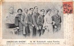 American Show - Kobelkoff Nebst Familie - Geboren Ohne Arme Und Beine In Wossnesensk - Artiesten